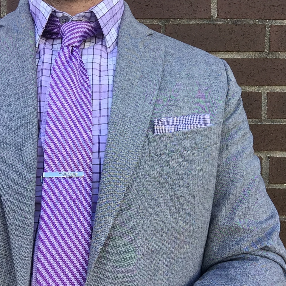 Dapper in Purple - @theamateurprofessional